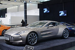 Aston Martin One-77 a Los Angeles International Auto Show-n 2011-ben