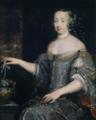 Attributed to Elle le Vieux - Portrait présumé de Mademoiselle de la Vallière recevant les présents du roi.png