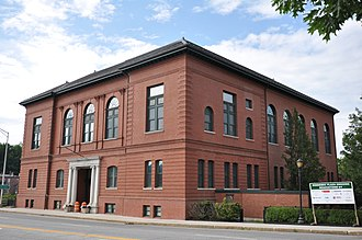National Register of Historic Places listings in Kennebec County, Maine - Image: Augusta ME Old City Hall 2