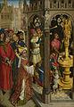 Augustinus offert aan een afgod der Manicheeërs (?) Rijksmuseum SK-A-2057.jpeg
