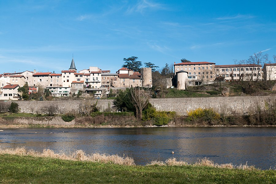 English:  The Monk sacristan castle  at Aurec sur Loire