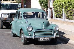 Morris Minor Series II in Australien