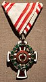 Austrian Order of Merit of the Red Cross (1914), received by András Jósa.jpg