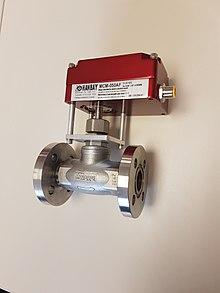 220px Automated_flanged_globe_valve globe valve wikipedia