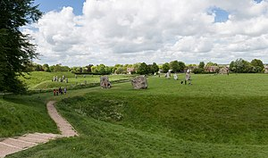 Avebury Henge and Village