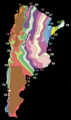 Average annual rainfall in Argentina.png
