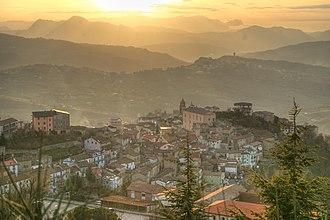 Avigliano - Image: Avigliano at sunset