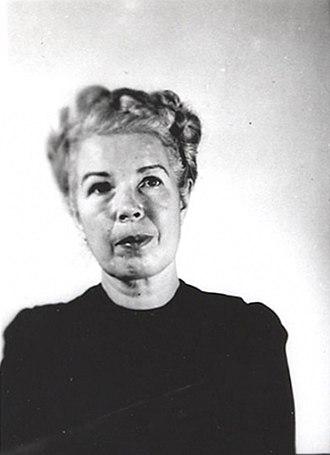 Mildred Gillars - Mildred Gillars (Bureau of Prisons ID photo)
