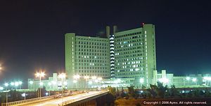 Acciona - King Abdullah University Hospital, which is the hospital of Jordan University of Science and Technology