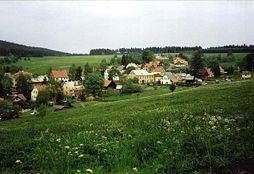 Pohled na hořejší část Perninku