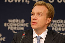 Børge Brende at the World Economic Forum on Africa 2008.jpg