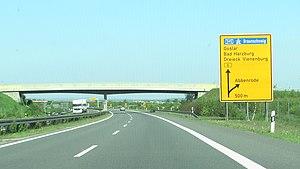 Bundesstraße 6n - Image: B6n Abbenrode