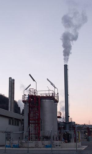 Evionnaz - Siegfried plant in Evionnaz