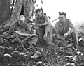 BG Merritt A. Edson, COL James P. Riseley and LTC Kenneth F. McLeod in June 1944 at Saipan.jpg