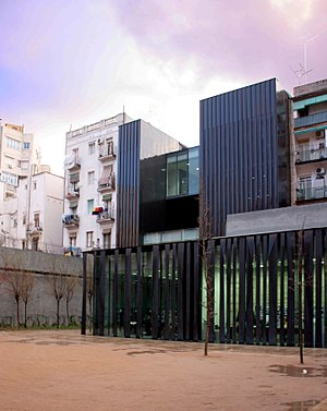 RCR Arquitectes - Public Library in Barcelona, designed by RCR