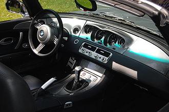 BMW Z8 - BMW Z8 interior