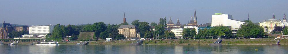 Beuel'den Bonn merkezine bakış