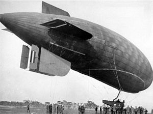 B-class blimp - B-1, the first of the class