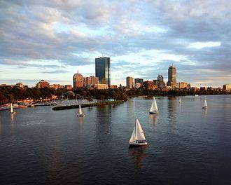 Back Bay, Boston - Back Bay and Charles River