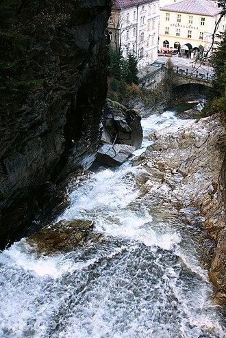Bad Gastein - Gastein waterfall