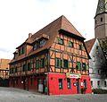 Bad Windsheim - Fachwerkhaus Storchennest in der Altstadt.JPG