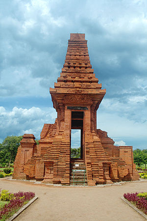 Candi of Indonesia - Eastern Java style   Bajang Ratu gate