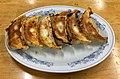 Baked gyoza of Gyoza-no-Manshu.jpg