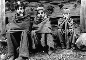 Gurjar - Gurjar children in Afghanistan, 1984