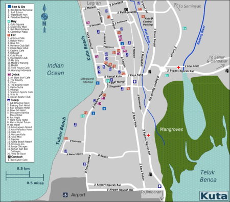 Kuta Travel Guide At Wikivoyage