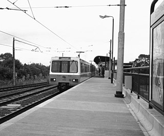 Bank Foot Metro station Tyne and Wear Metro station in Newcastle upon Tyne