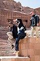 Barack Obama visits the ancient city of Petra in Jordan, 2013.jpg