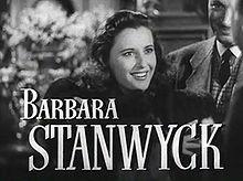 Barbara Stanwyck in Arriva John Doe