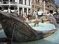 Barcaccia - Boat Fountain in Rome.jpg
