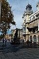 Barcelona - Plaça del Portal de la Pau - Rambla del Mar - View NW.jpg