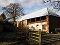 Barn, near Little Silver - geograph.org.uk - 1625966.jpg