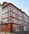 Barockes Fachwerk (Seitenansicht) - Eschwege Stad 35-Ecke Schildgasse - panoramio.jpg
