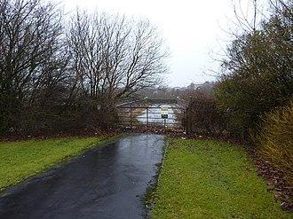 Burnley Barracks - Image: Barracks Road, Burnley