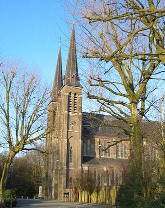 Oostakker - Image: Basiliek Oostakker Lourdes