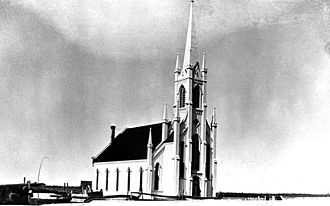 Weldford Parish, New Brunswick - Bass River Presbyterian Church in 1886