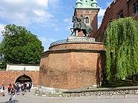 BastionWładysławaIV-Wawel-POL, Kraków.jpg