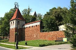 Wall tower in Olkusz