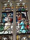 batenburg (wijchen) raam doopsel van christus