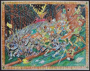 Middle-earth wars and battles - The Battle under the Trees