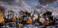 Battle in køge bay-claus moinichen 1686.jpg