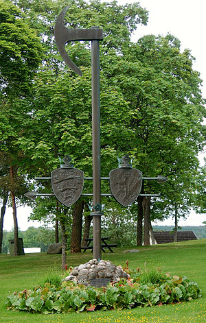 Battle of Hova - Image: Battle of Hova memorial