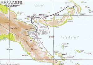 Timeline of World War II (1943) - Battle of Bismarck Sea