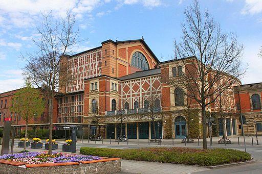 Bayreuth Festspielhaus (Richard-Wagner-Festspielhaus in Bayreuth) Seite