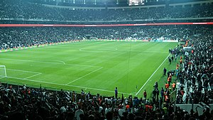 Big Three (Turkey) - Beşiktaş, Vodafone Arena