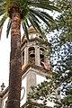 Bell tower in the Cathedral de Nuestra Señora de los Remedios (Catedral de la Laguna) in San Cristóbal de La Laguna on Tenerife, Spain (48225416447).jpg