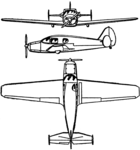 Bellanca Cruisair Senior 3-view Les Ailes February 15, 1947.png